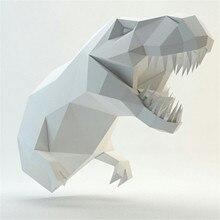 Wall-Decoration Papercraft Model 3d-Model Animal Diy Manual Creative