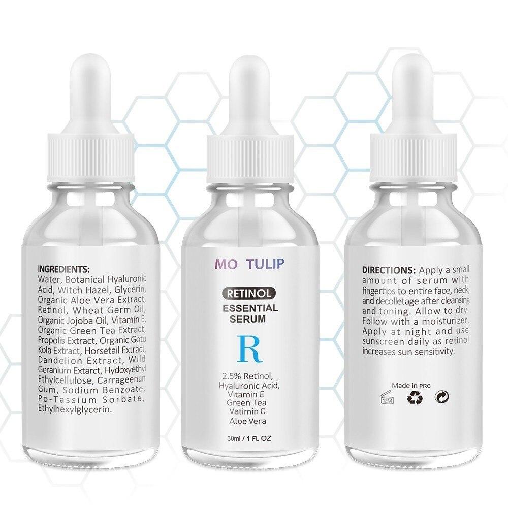 MO TULIP Retinol 2.5% Face Facial Serum Vitamin C Serum Firming Repair Skin Anti Wrinkle Anti Aging Serum lifting Skin Care