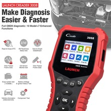 цена на LAUNCH Creader 3008 Code Reader Scanner Support obd2 with Battery tester CR3008 OBDII diagnostic tool