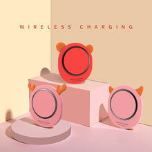 Madevil wireless fast charger  for iPhone X XR XS Max 8 USB wirless Charging Samsung Xiaomi Huawei phone Qi
