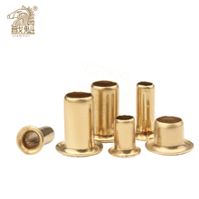 [M0.9 M1.3 M1.5 M2 M2.5 M3 M4] Tubular Rivets Double-sided Circuit Board PCB Nails Copper Hollow Rivet Nuts GB876