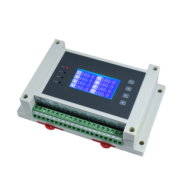 8/16 Pt100 Multi-channel Isolated Thermocouple Thermal Resistance Temperature Acquisition Module To 485MODBUS-RTU