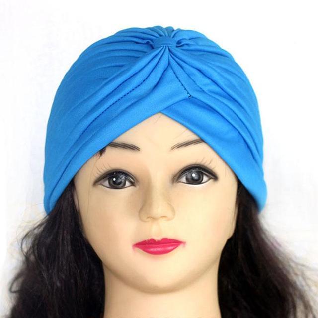 Hot Indian Style Muslim Thin Hijab Turban Fashion Women Gold Shiny Turban New Stretchable Soft Bright Hat Indian Hats Head Wraps Mega Offer Ab26f Cicig