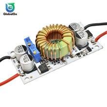 DC 8,5 V-48V a 10-50V DC-DC Boost convertidor de alimentación de corriente constante de 150KHz 10A 250W LED conductor paso módulo Solar
