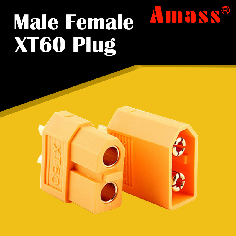 NEW 5Pair XT60 Male /& Female Bullet Connectors Plugs For RC LiPo Battery