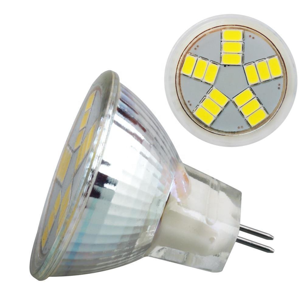 Светодиодная стеклянная лампочка MR11 1 шт./лот, 12 В, 3 Вт, 6 Вт, 10 Вт, монолитный блок светодиодов SMD, светодиодная лампа GU4 с регулируемой яркость...