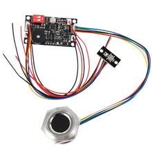 K200 Access Control Fingerprint Control Board + R503 Fingerprint Module Two-Color Ring Indicator Access Control