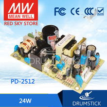 nice MEAN WELL 2Pack PD-2512 meanwell PD-25 24W Dual Output Switching Power Supply hot selling mean well pd 110b meanwell pd 110 109w dual output switching power supply