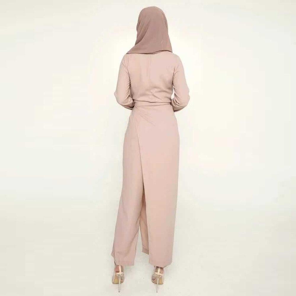 Robe Satin Abaya Dubai Muslim Fashion Jumpsuit Dress Turkey Islam Clothing African Dresses For Women Musulman De Mode Ropa Mujer