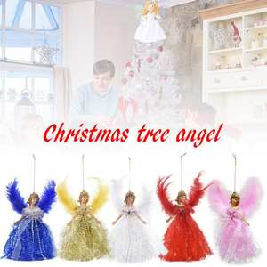 Pendant-Decoration Handmade Cute Charm Home for Products Angel-Wings Christmas-Angel-Pendant