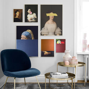 Canvas Posters Painting Wall-Picture Fantasy Prints-Figure Living-Room-Decoration World Famous