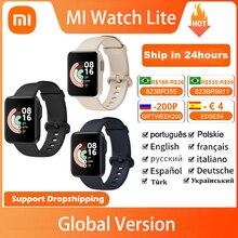Global Version Xiaomi Mi Watch Lite Smart Watch GPS Bluetooth Mi Smartwatch 5ATM Waterproof Fitness Sleep Monitor Mi Watch Lite