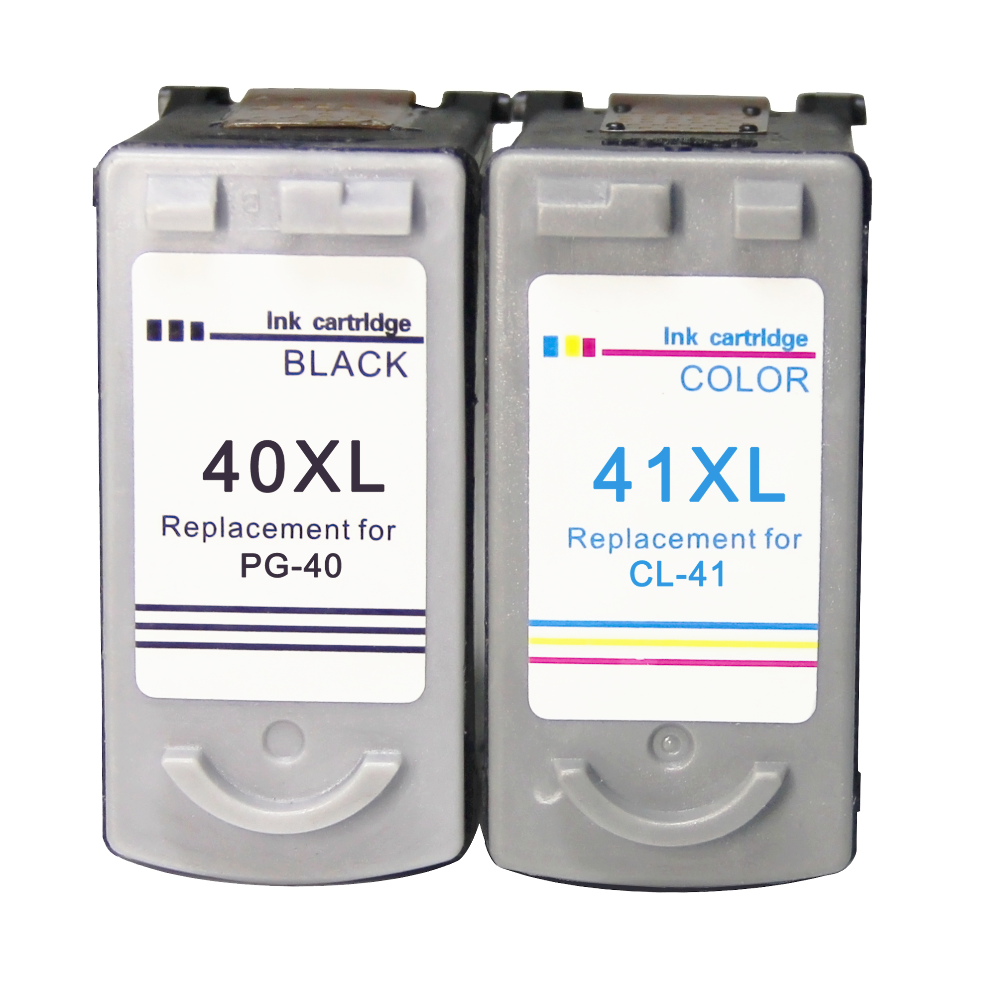 PG40 CL41 <font><b>Ink</b></font> <font><b>Cartridge</b></font> Replacement for Canon PG40 CL41 PG-<font><b>40</b></font> CL-41 iP1600 IP1700 IP1800 MP140 MP450 MP470 MX300 printer image