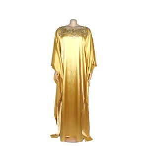 Image 3 - שמלות אפריקאיות נשים דאשיקי ארוך מקסי שמלת 2020 קיץ בתוספת גודל שמלת גבירותיי מסורתית בגדים אפריקאים פיות Dreess