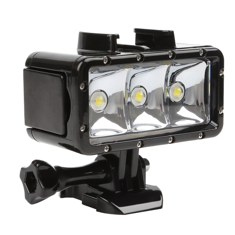 30M Underwater Waterproof LED Lamp Diving Light for DJI Osmo Action GoPro Hero 7 6 5 Black Xiaomi Yi Sjcam Eken Flash Lighting Lahore