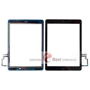 Image 2 - 2017 A1822 A1823 Màn Hình Cảm Ứng Cho iPad 5th Thế Hệ 5 Bộ Số Hóa Mặt Trước Kính Có Nút Home + Dây Cáp + Dụng Cụ cường Lực Glasss