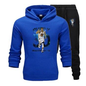 Stephen Curry Men pullovers hoodies sweatshirt Golden State Clothing streetwear casual tracksuit Warriors USA basketballer star 2