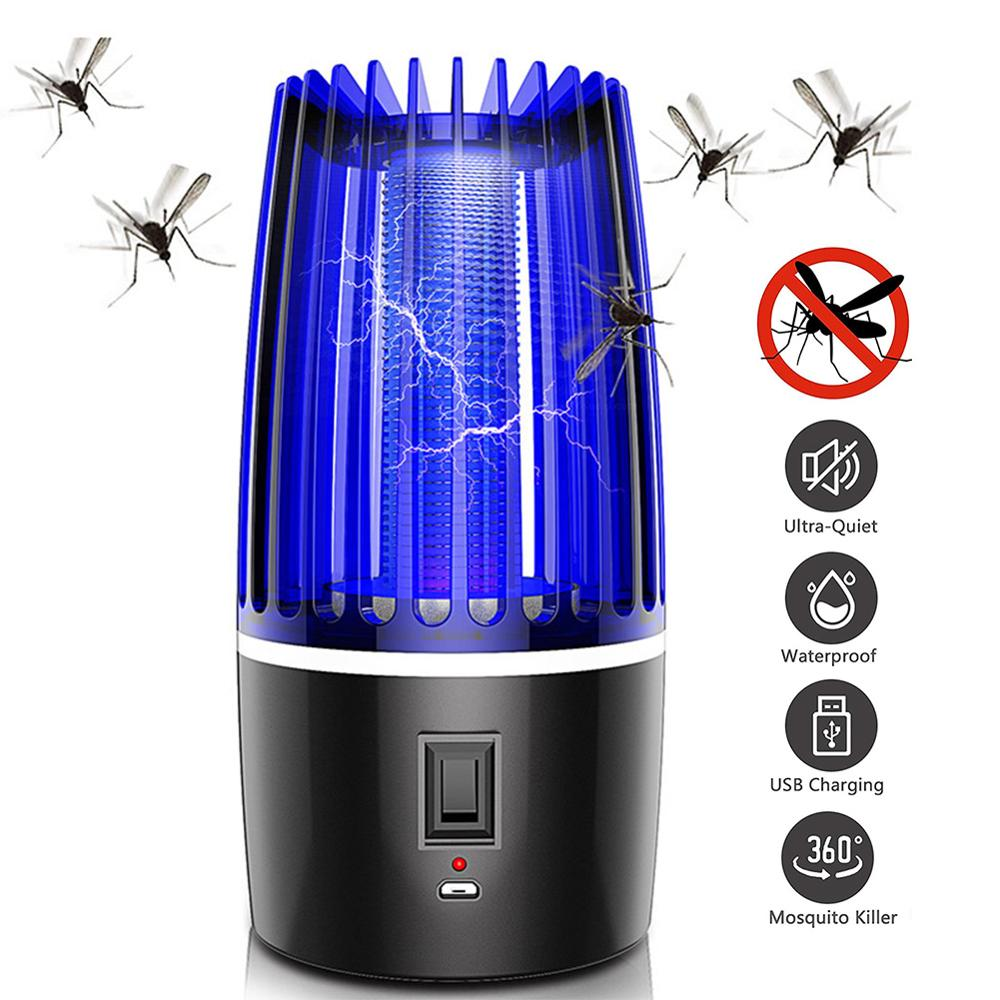 Meijuner Mosquito Killer Lamp USB Electric Mosquito Repellent Lamp Electric Shock Insect Killer Safe For Babies Pregnant Women
