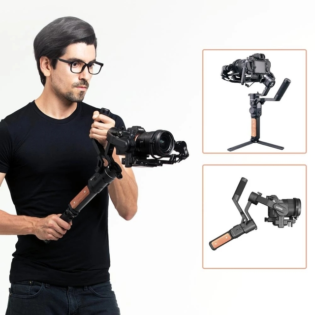 FeiyuTech AK2000S Camera Stabilizer 3 Axis Gimbal DSLR Mirrorless Handheld Video Gimbal Fit For Canon Sony Nikon Camera AK2000C 5