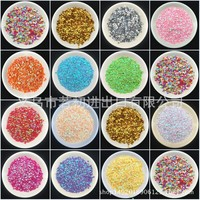 New Style 3mm Diamond Sequin 3 Millimeter PVC Paillette Manicure Patch Colorful Sequin Wedding Throwing Confetti