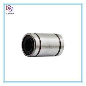 3 шт. LM8UU 8x15x24 мм шарикоподшипник втулка 8 мм x 15 мм x 24 мм для 3D стержни для принтеров линейного вала