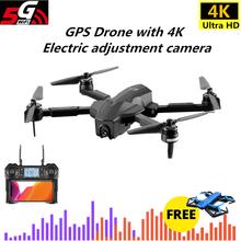 Dron GPS z 5G WIFI FPV 4K kamera hd Profissional bezszczotkowy Quadcopter z kamerą ESC 28 minut czas lotu VS F11 SG906 Dron tanie tanio Metal Z tworzywa sztucznego Z włókna węglowego 4 * 1 5V AA batteries (not included) 35 5*40*6 8CM Silnik bezszczotkowy
