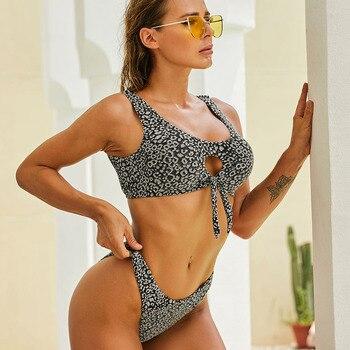 Frauen Bikini Push-Up Tanga Badeanzug Brasilianisch Sommer Strand 1