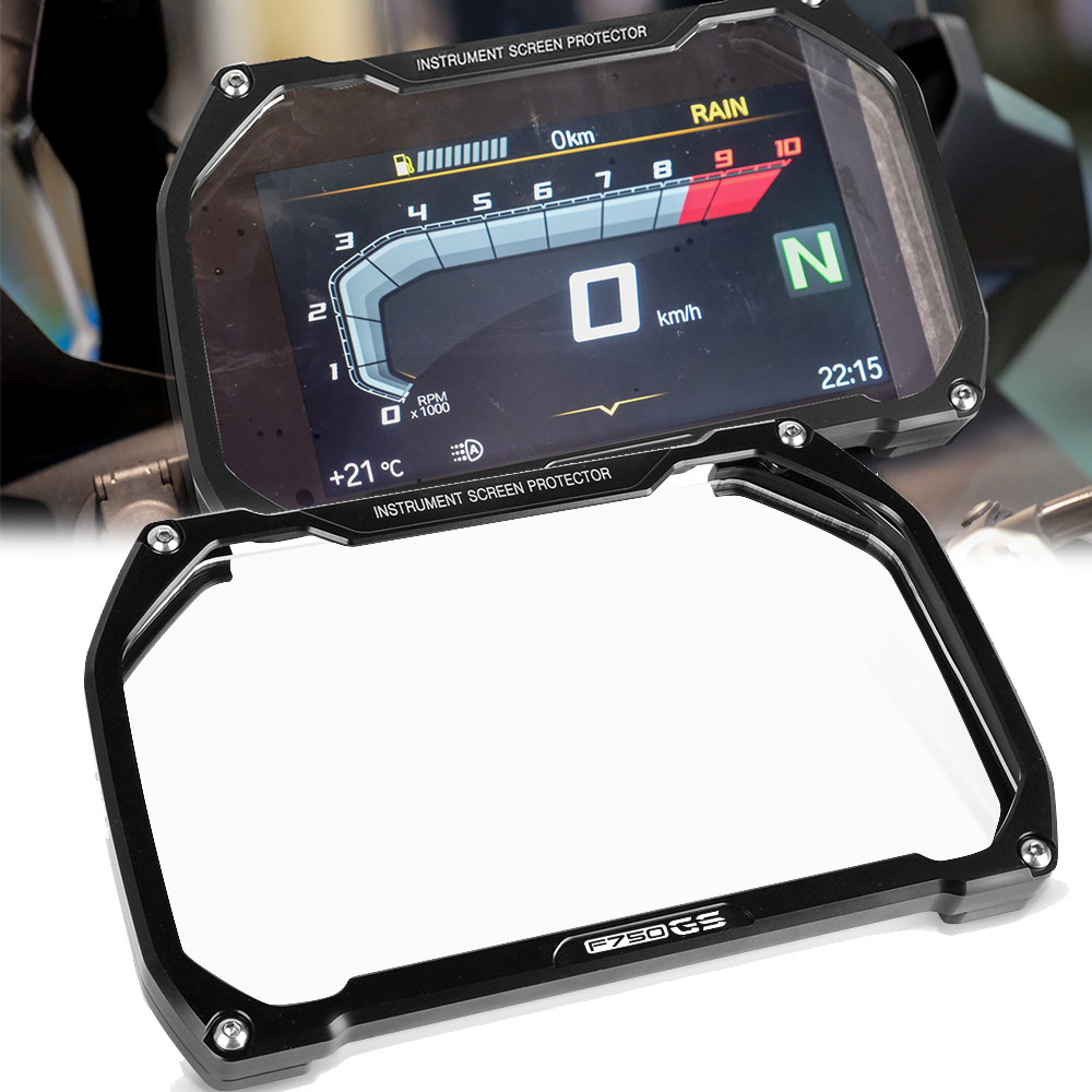 For BMW F750GS F 750 GS 2017 2018 2019 2020 2021 Screen-Protector Meter-Frame Visor Speedometer Tachometer Cover Display Shield