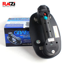 Raizi Grabo Electric Vacuum Suction Cup For Structure Tile Glass 170kg Capacity Portable Heavy Duty Lifter Stone Lifting Tool