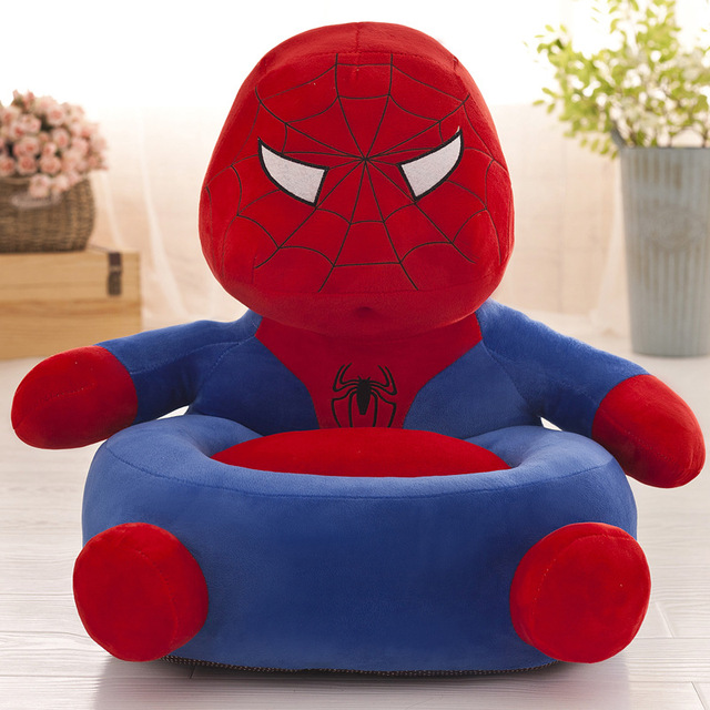 Baby Chair Toddler Nest Puff Seat Children Seat Sofa Washable Only Cover No Filling Kids Bean Bag Cartoon Bear Skin Upscale 5