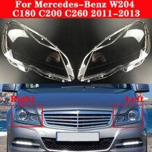Автомобильная передняя фара mercedes benz c class w204 c180