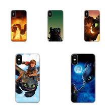 Toothless Train Your Dragon For Xiaomi Redmi Mi 4 7A 9T K20 CC9 CC9e Note 7 9 Y3 SE Pro Prime Go Play Back Covers Slim(China)