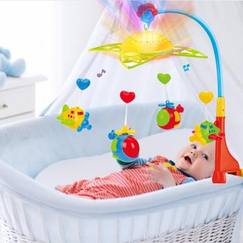 Bluetooth Baby Crib Mobile With Light Babybed Relaxing Music Ceiling Light Starry Projector Animals Musical Nursery Rattle Toys Buy At The Price Of 31 49 In Aliexpress Com Imall Com