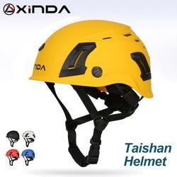 XINDA ABS arrampicata casco occhiali di protezione per speleologia canyoning casco di sicurezza in discesa casco speleology mountain attrezzature di soccorso