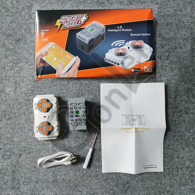 NEW Bluetooth Lithium Sbrick Buwizz Battery Box Motors Train Remote Control PF Brick Toy Suitable For IOS 9.0 And Android System