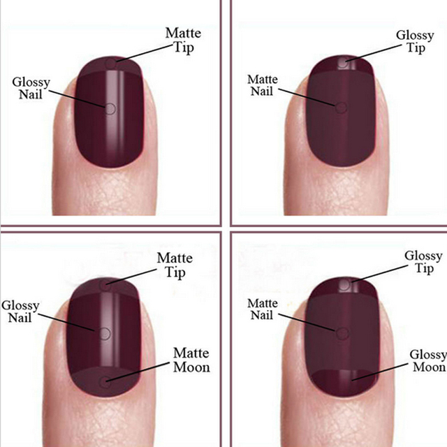 Zation Matte Top Coat Nail Art Uv Gel Lucky for Manicure Easy Cleaning Gel Varnish Lacquer Healthy and Nontoxic Acrylic Glue 1