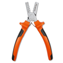 High Quality Professional Carbon Steel Crimping Pliers Hand Tool 0.25-2.5mm2 Sleeve Terminal Crimper Plier Wire Cable End Pliers platel plier high quality tool locking combination pliers steel tie fasten tool