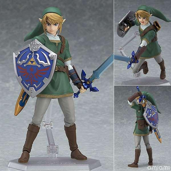14cm Link Zelda Legend Of Zelda Skyward Sword Doll Anime Figure Toy Collection Model Toy Action Figure For Friends Gift