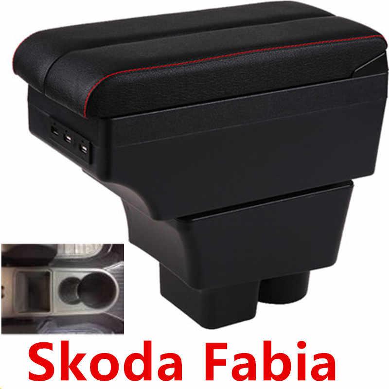 Cho Skoda FABIA Tay Hộp 2008-2014 Trung Tâm Lưu Trữ Nội Dung Hộp Với Giao Diện USB