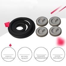 1 ความหนา4Mm Idle Wheel Loop IdlerแหวนยางสำหรับCassette Deckเครื่องบันทึกเทปสเตอริโอAudio Player