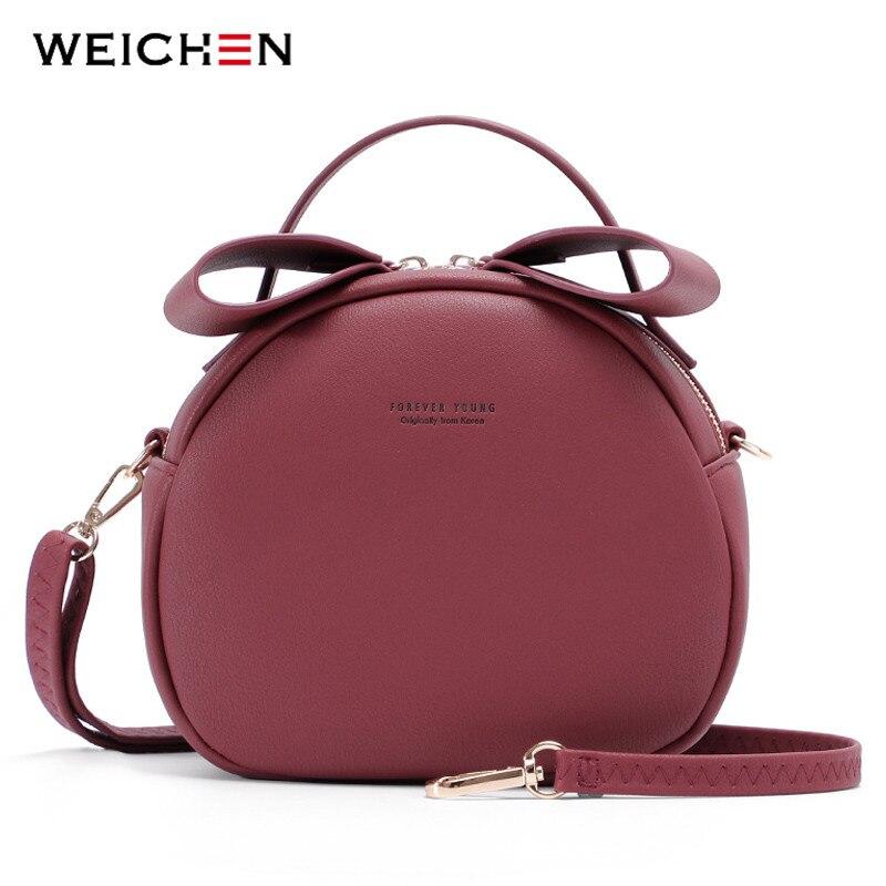NEW Geometrical Circular Women Shoulder Bag Leather Women