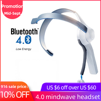MindWave BLE 4.0 EEG HeadSet With NeuroSky ThinkGear Technology Sensor for Arduino ios or Android Developers