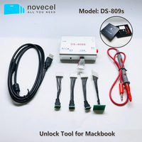 DS-809s ferramenta de desbloqueio leia escrever sn para o reparo macbook imac ar spi rom ic ds809 icloud desbloquear ferramenta