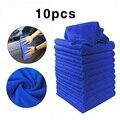 10 шт. чистящие салфетки из микрофибры Авто мягкой ткани для удаления остатков крема для мытья Полотенца Duster 25*25 см автомобиль для уборки дом...