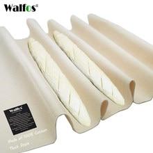Walfos grosso pano de linho fermentado prova de massa bakers panelas pão baguette baking esteira pastelaria padeiro couche pano de prova
