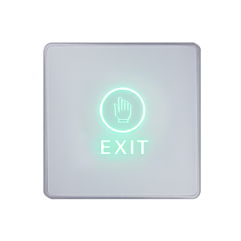 Door Exit Button Touch Release Push Switch Infrared Contactless Bule Backlight for access control systemc Electronic Door Lock (11)