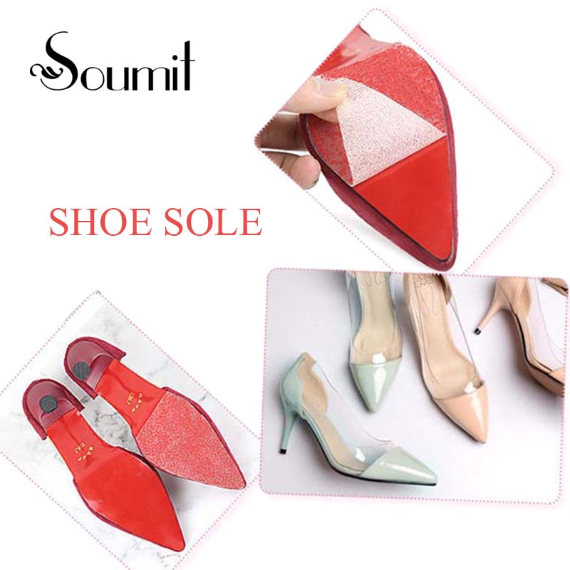 Soumit Sole Sticker Anti Slip Tape Transparent Self Adhesive Shoe Ground Grips For High Heels Outsoles Protector Soles Inserts