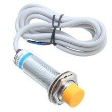 Interruptor indutivo npn do sensor de proximidade do interruptor LJ18A3 8 Z/bx 8mm lw nenhum interruptor 3 fios dc 6 36v 300ma