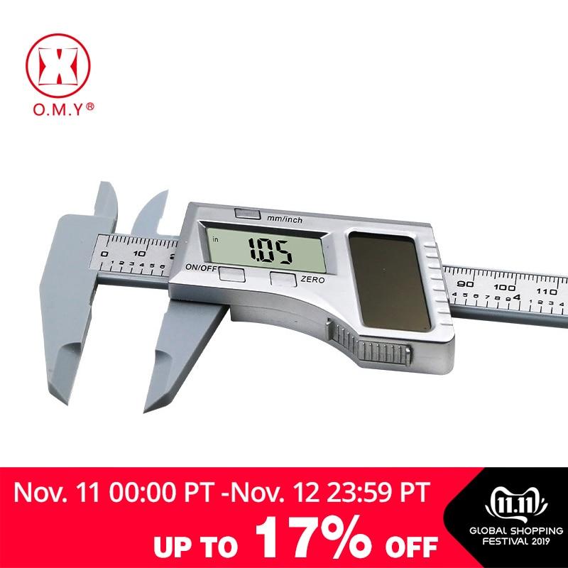 0-150mm 6 Inch Solar Battery Digital Caliper Vernier Caliper LCD Vernier Gauge Micrometer Measuring Tool