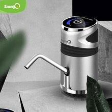 SaengQ pompa idraulica elettrica automatica pulsante di ricarica USB Dispenser gallone interruttore per bere bottiglie per dispositivo di pompaggio dellacqua